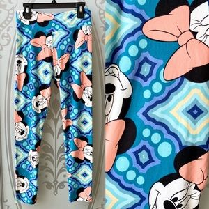 NEW! LuLaRoe Disney Minnie Mouse OS Leggings
